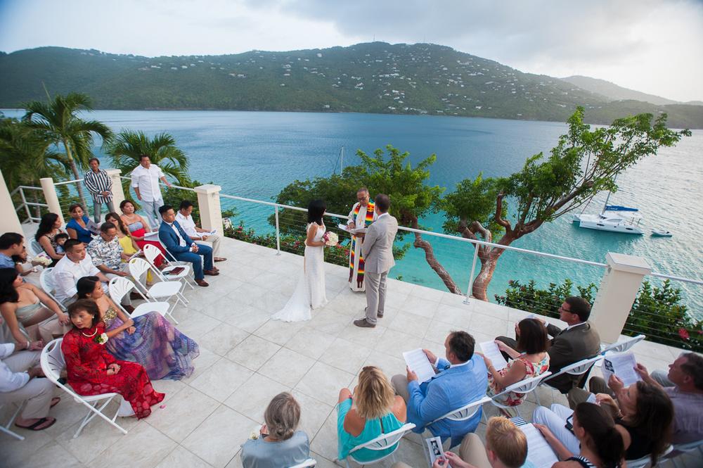 Beach Wedding by Dallas Wedding Photographer in the Virgin Islands