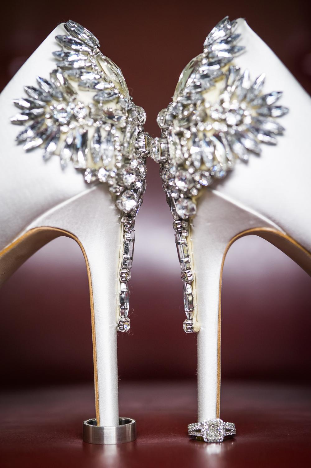 Creative Wedding Ring Photographs by Dallas Wedding Photographer