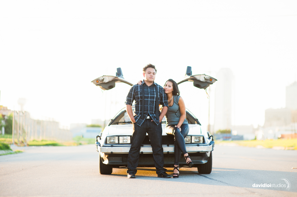Back to the Future Engagement Session Dallas TX 3.jpg