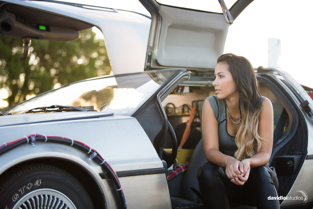 Back to the Future Engagement Session Dallas TX - 2.jpg
