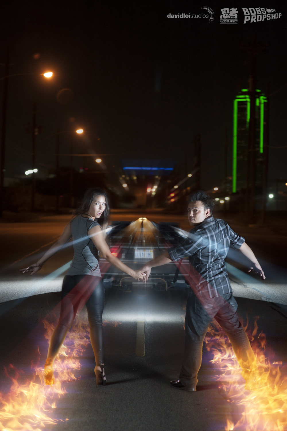 Back to the Future Engagement Session Dallas TX - 9.jpg