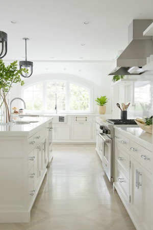 Define the array of different elements that come together to make a functioning kitchen. Without contrast, all of the pieces can blur together and loose their distinction.
