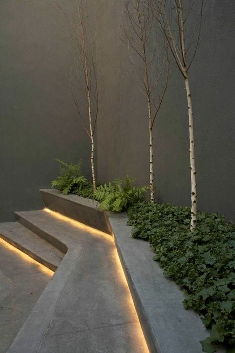 Light up the Garden:  As the warm July sun continues to heat up, there is nothing better than sitting in the backyard in evening and feeling a cool breeze. Attaching LED lighting strips behind bricks or under steps not only helps to guide one's way as night sets, but also gives a magical garden feel and is perfect for outdoor parties.