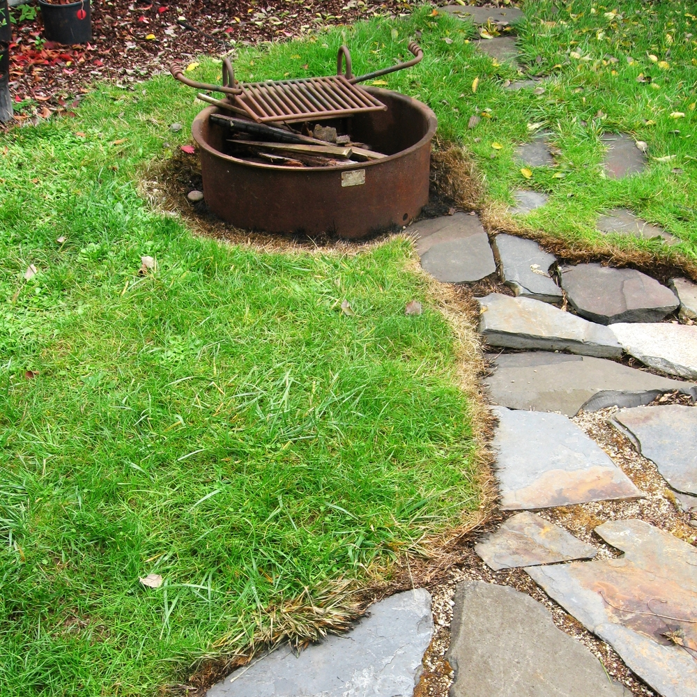 PATIO PAVERS AND GRAVEL