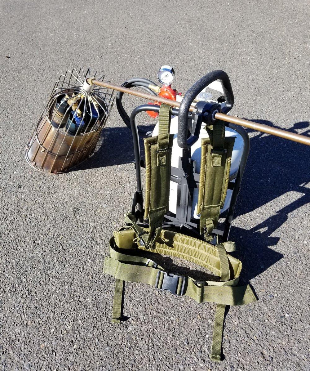 Backpack Package (Oval Basket) - $419