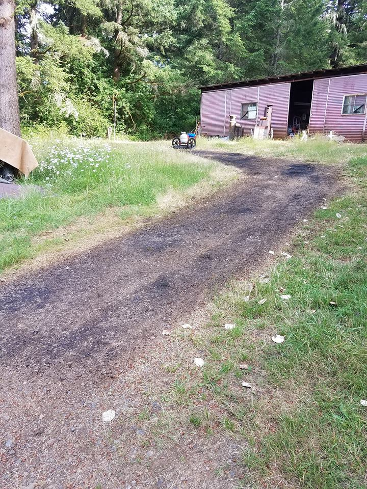 Ongoing testing of our new Field cart on a weedy driveway in western Oregon.