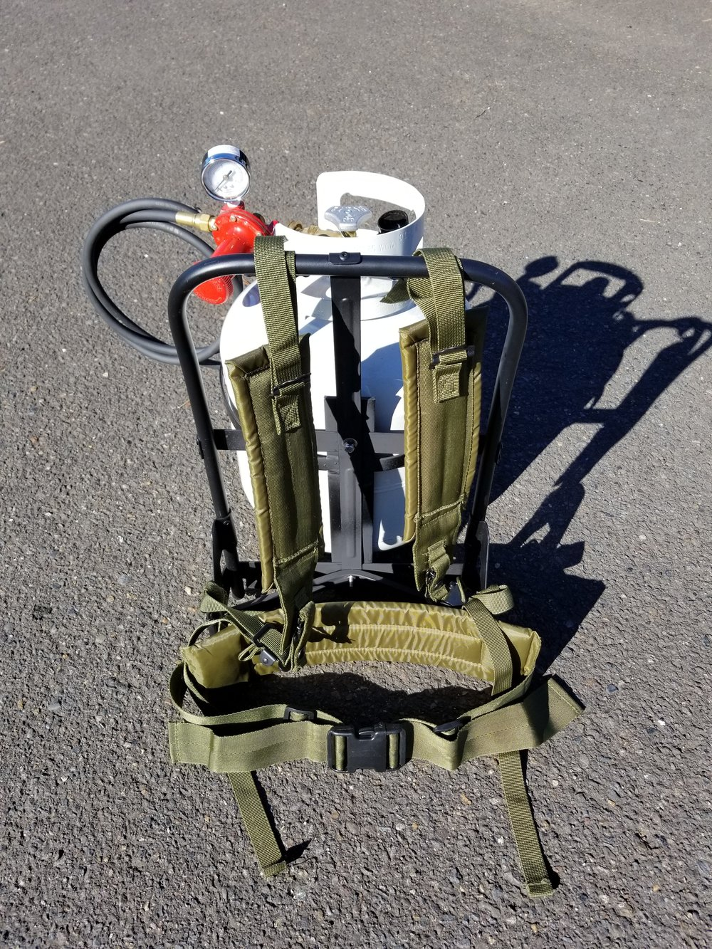 Backpack Package (Round Basket) - $369