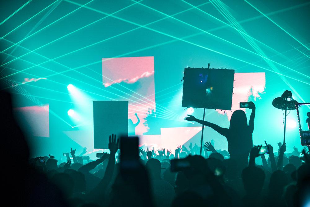 Seven Lions Tour World Market Center Las Vegas EDM Rave Scene Music
