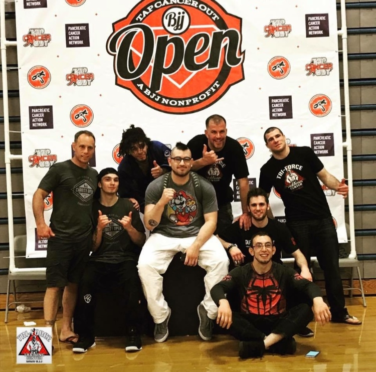 Tri-Force Competes to Tap Cancer Out — Tri-Force MMA