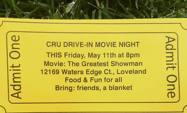 Outdoor movie and fire pit!! Everyone is welcome!!