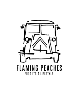 Flaming Peaches