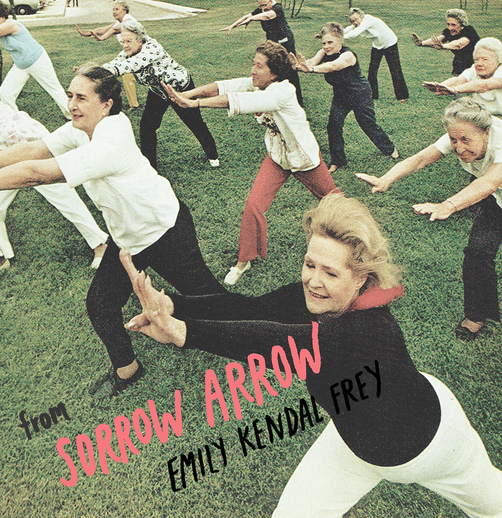 Black Cake Records , Kelly Schirmann's Portland-based record label/audio archival of contemporary poets, has just released two new records,  one of which is from Sorrow Arrow by Emily Kendal Frey –ten poems from her second book of poetry, Sorrow Arrow, forthcoming from Octopus Books on April 1. That's right, everybody, get in line, save up twelve of your dollars, and listen to these poems while you wait.