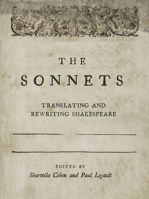 "Telephone Books  has published The Sonnets: Translating and Rewriting Shakespeare where ""  more than 154 contemporary poets offer their own startling and imaginative versions of Shakespeare's sonnets.""  I    t is now available for purchase . I rewrote Sonnet 131. I put a tarantula in it."
