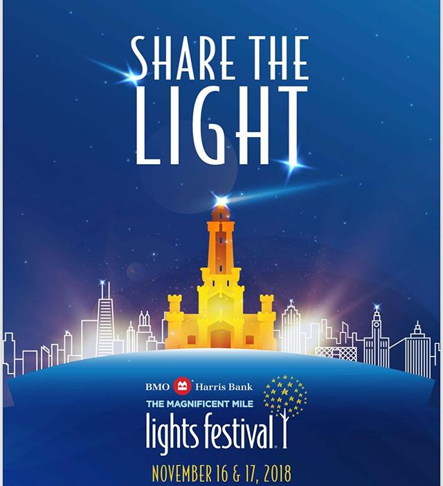 So excited to be performing at the 27th annual BMO Harris Bank Magnificent Mile Lights Festival in Chicago this weekend! ✨ Event link in bio! #BMOLightsFest @themagmile