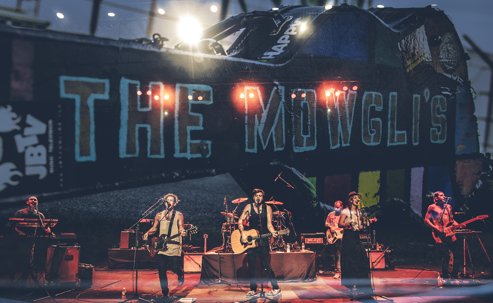 The Mowgli's Perform at DuQuoin State Fair, September 1, 2015