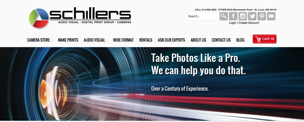 This article has been brought to you by Schillers Camera store in St. Louis, Missouri. Please click the photo above to visit their website and check out all of their great deals.