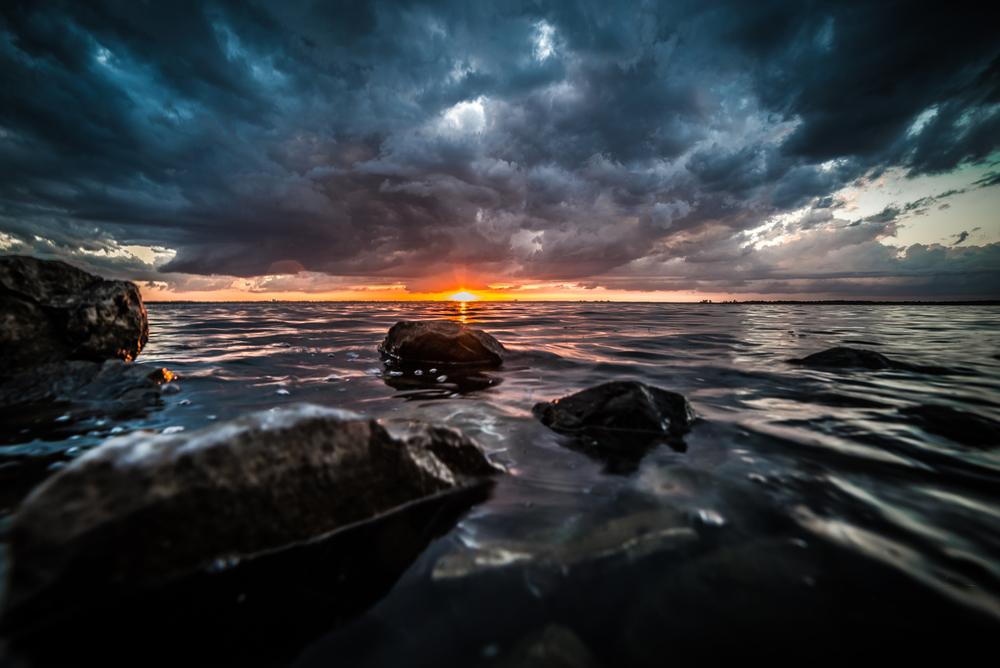 """Water on The Rocks"" - ©Jonathon Walters"