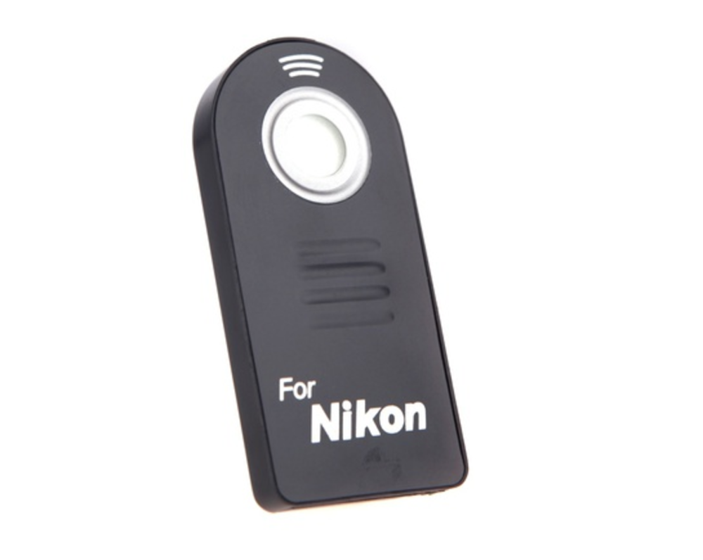 IR Wireless Infrared Shutter Release Remote Control for Nikon Cameras. If you need to take photos while not touching your camera, this is for you.