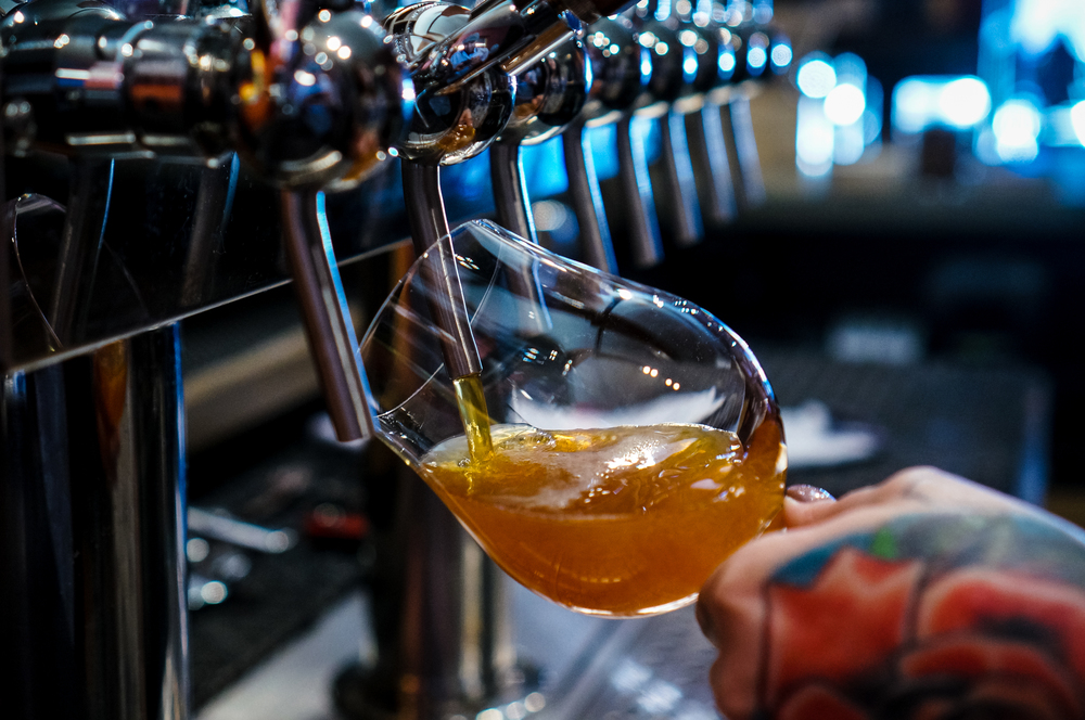 Racer X, poured by Jacqueline