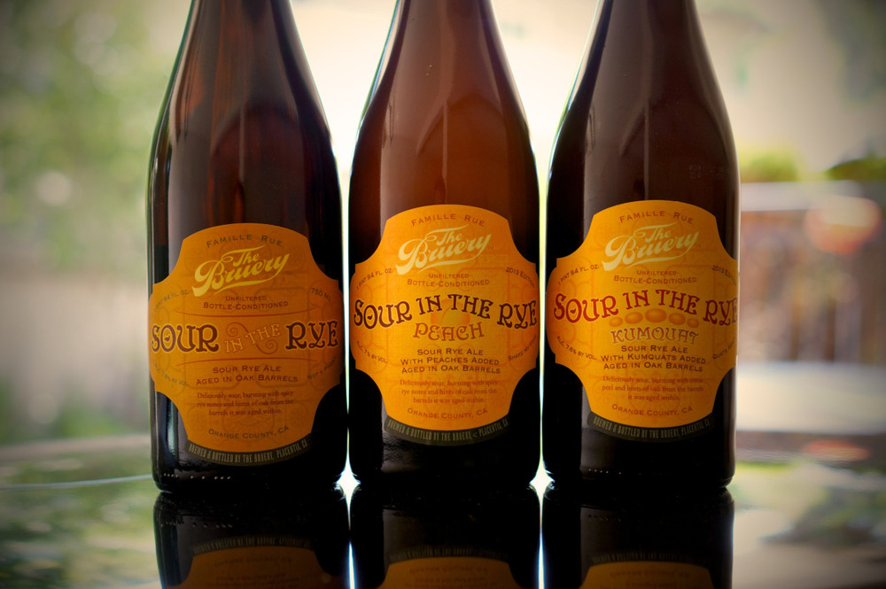 Vintage. Peach. Kumquat. It might be time to assault my senses with this sour set from The Bruery.