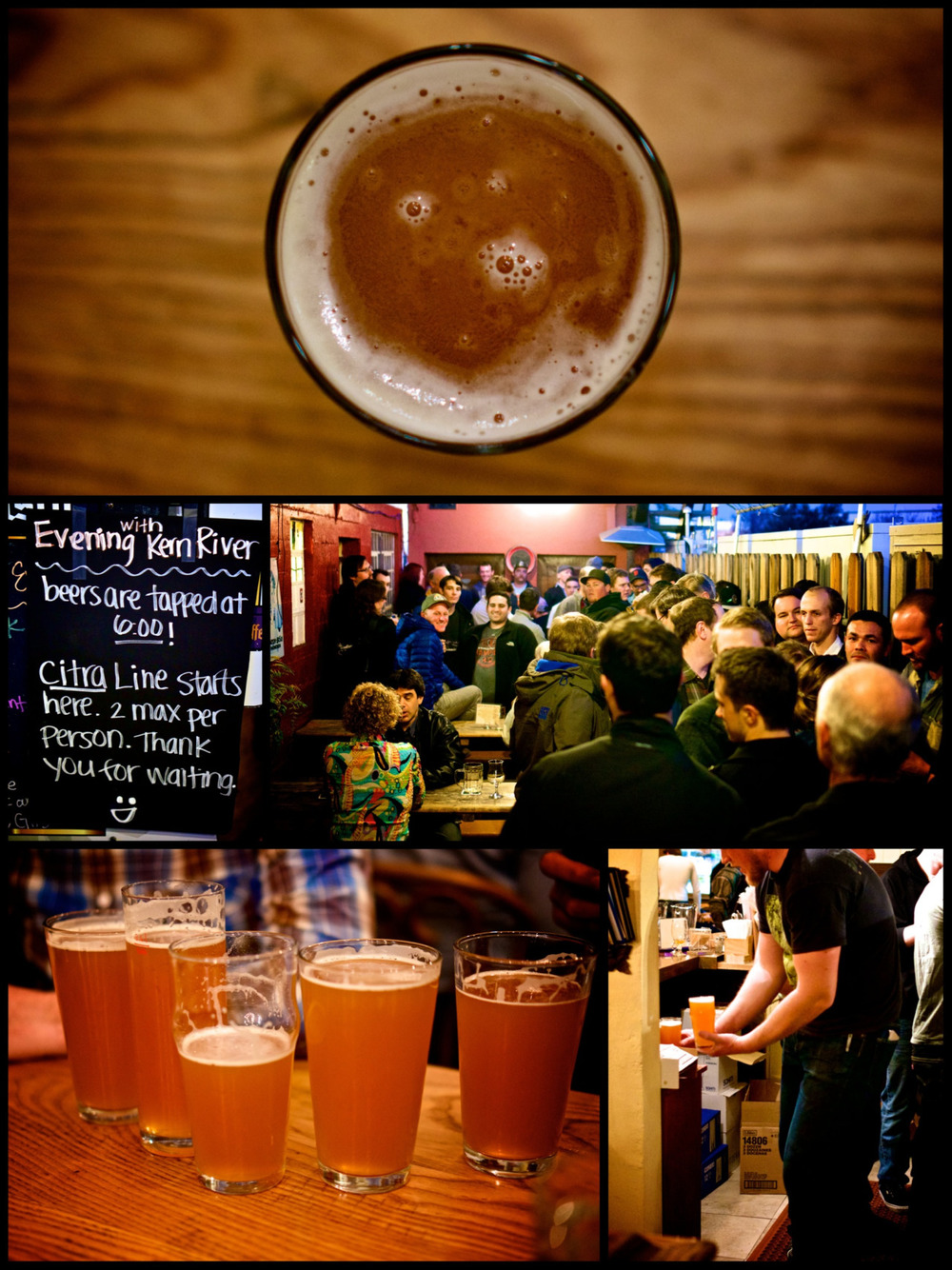 "It was all about 'Citra"" to begin the Kern River Brewing event at Gourmet Haus Staudt in Redwood City."