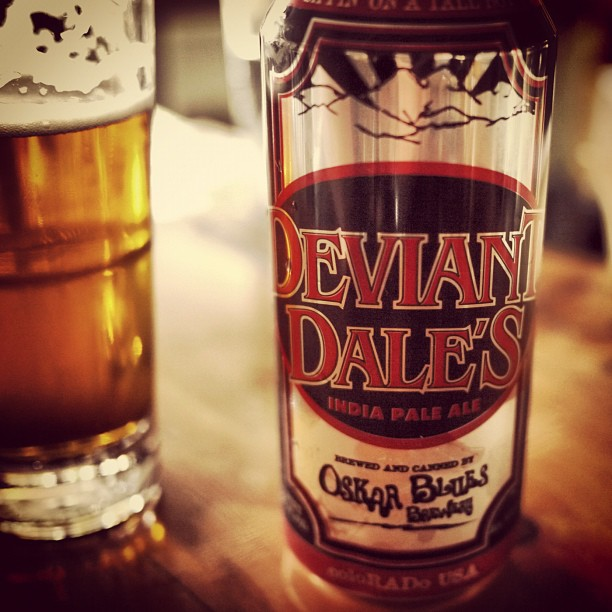 Someone has grown up // 'Deviant Dale's' by @OskarBlues (Taken with instagram)