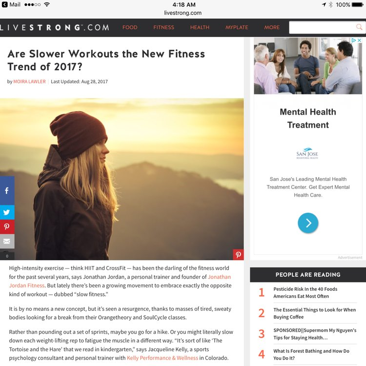 4273a567cb3220 Are Slower Workouts the New Fitness Trend of 2017  — Jonathan Jordan ...