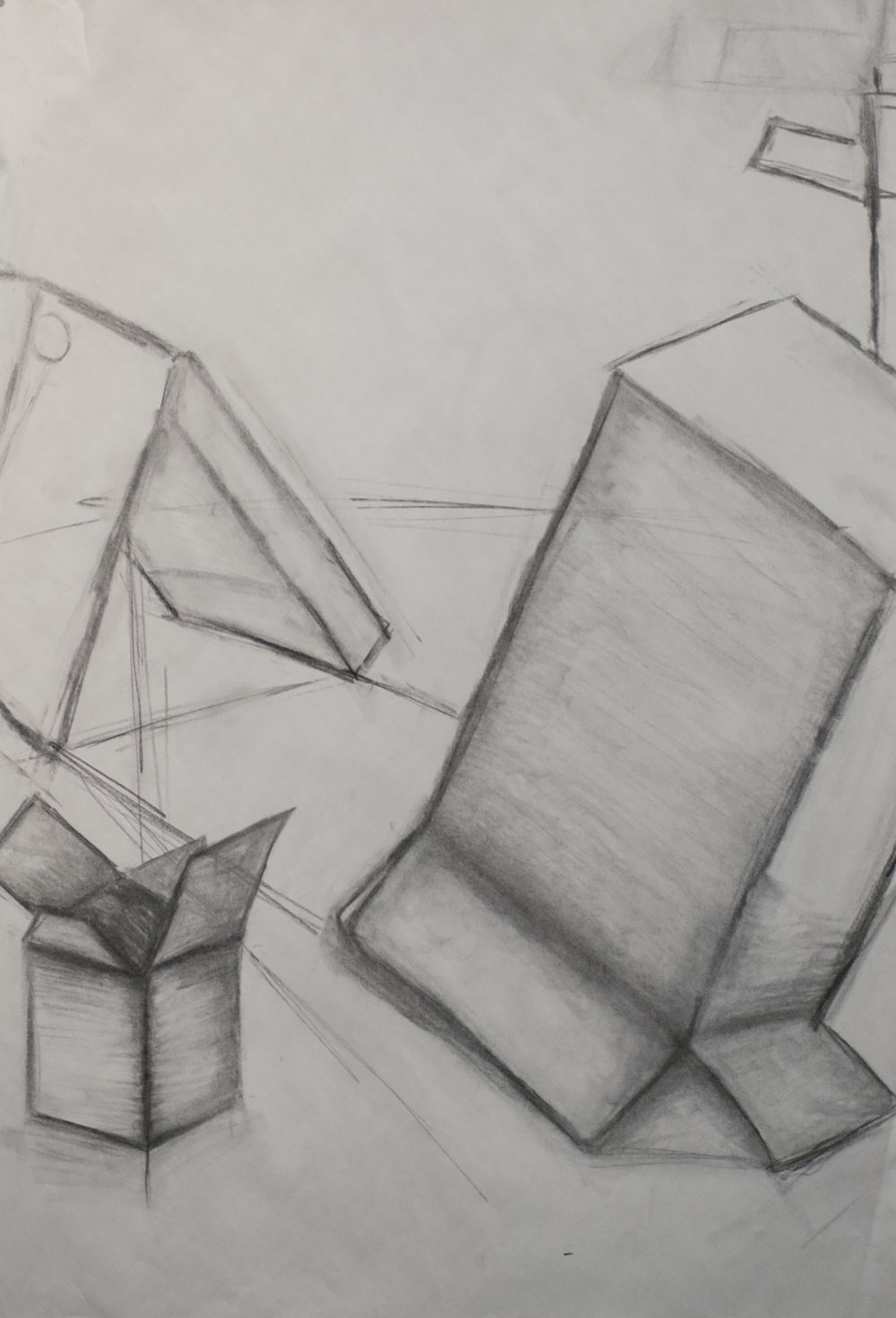 Student Work Box Drawing 1