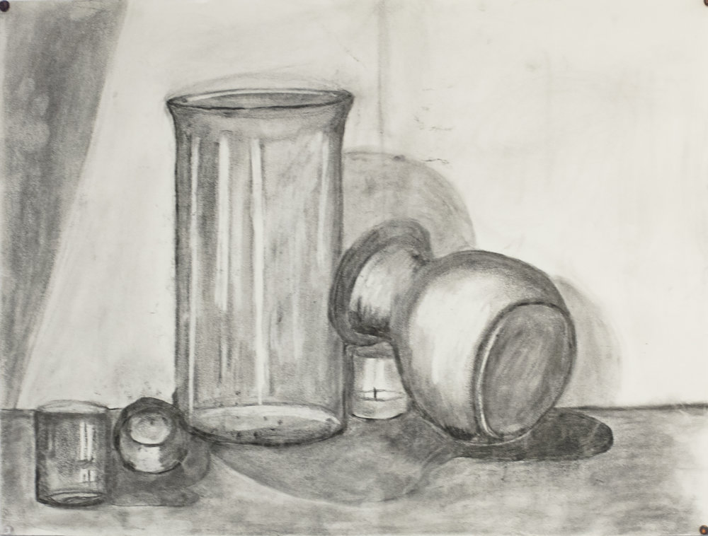 Student Work Ellipse Still Life 1