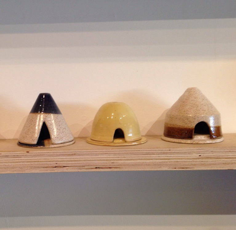 Tiny teepees at The General Store