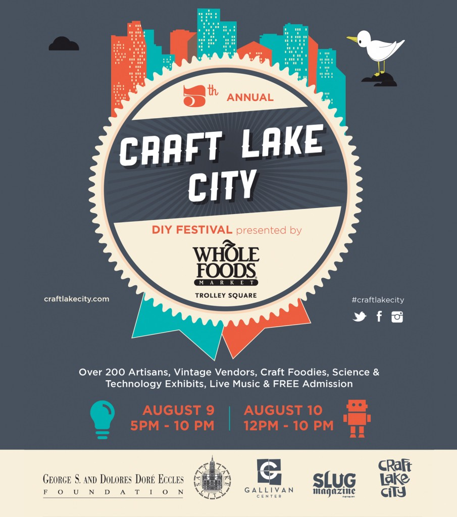 Craft Lake City  is coming up in just a few weeks. For the first time it'll be a two day event.