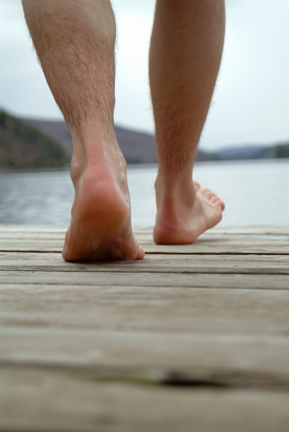 Image of ankles doing what they are MEANT to do, take you confidently wherever you would like to go.