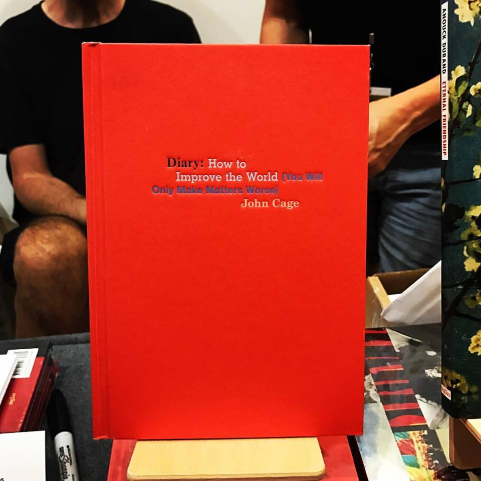 Mixed messages from John Cage - Published by Siglio Press