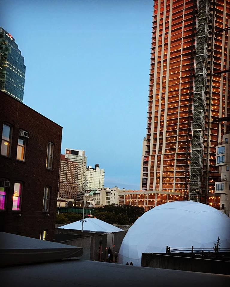 MoMA PS1 sunset