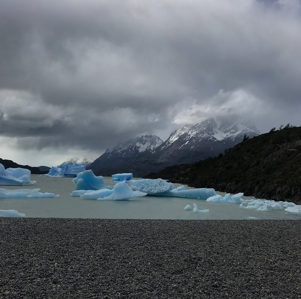 Icebergs on the beach.JPG