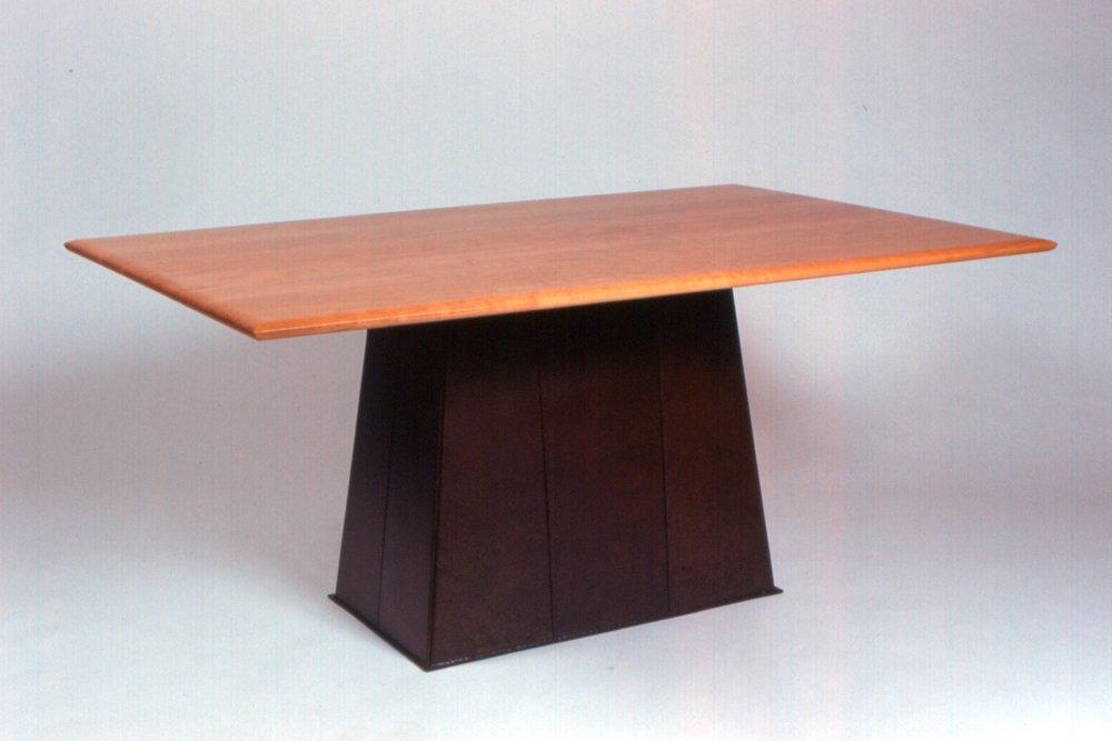 Steel Base Dining Table.jpg
