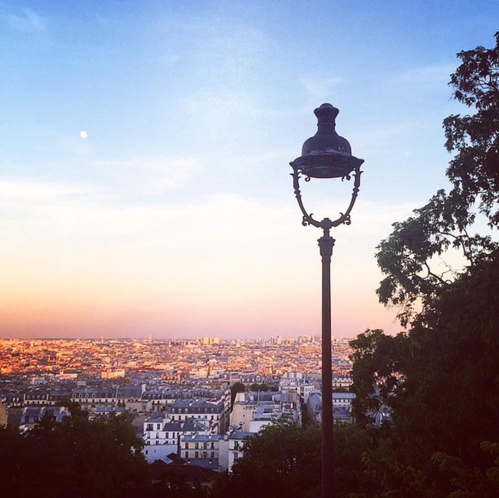 Montmartre lampost