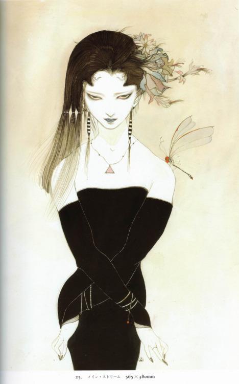 Hiten , by Yoshitaka Amano.