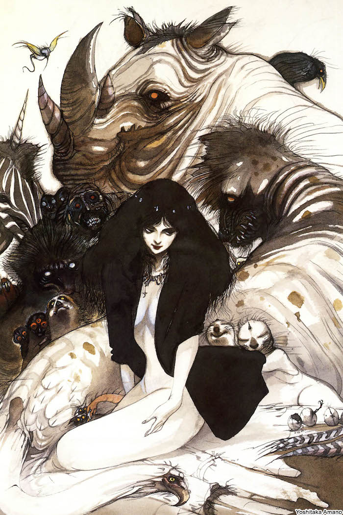From The Virgin, by Yoshitaka Amano.