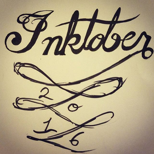 The Inktober Challenge!