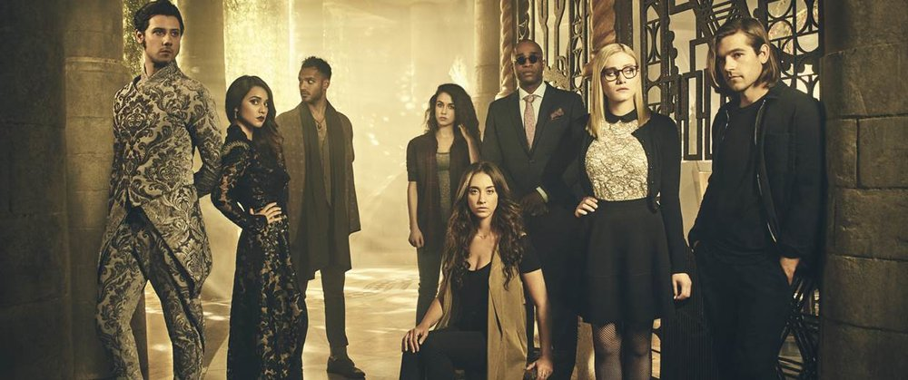 The Magicians. I love this show. Except for that last episode of season one...that was a rough one. Left a bad taste in my mouth.