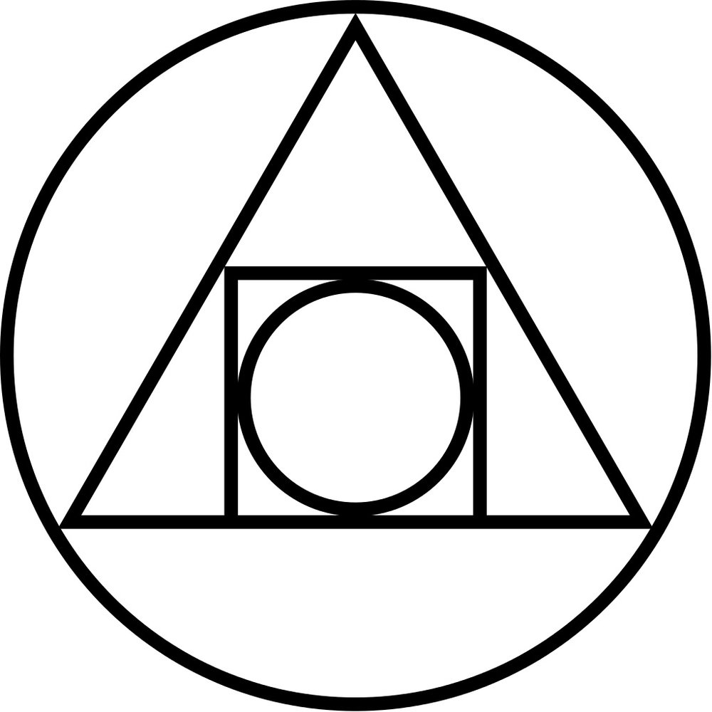 Some kind of alchemic symbol. Kinda looks like something out of a Harry Potter book.