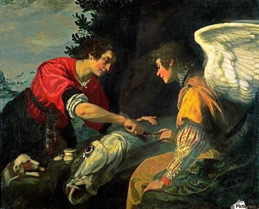 Jacopo Vignali,  Tobias and the Archangel Raphael
