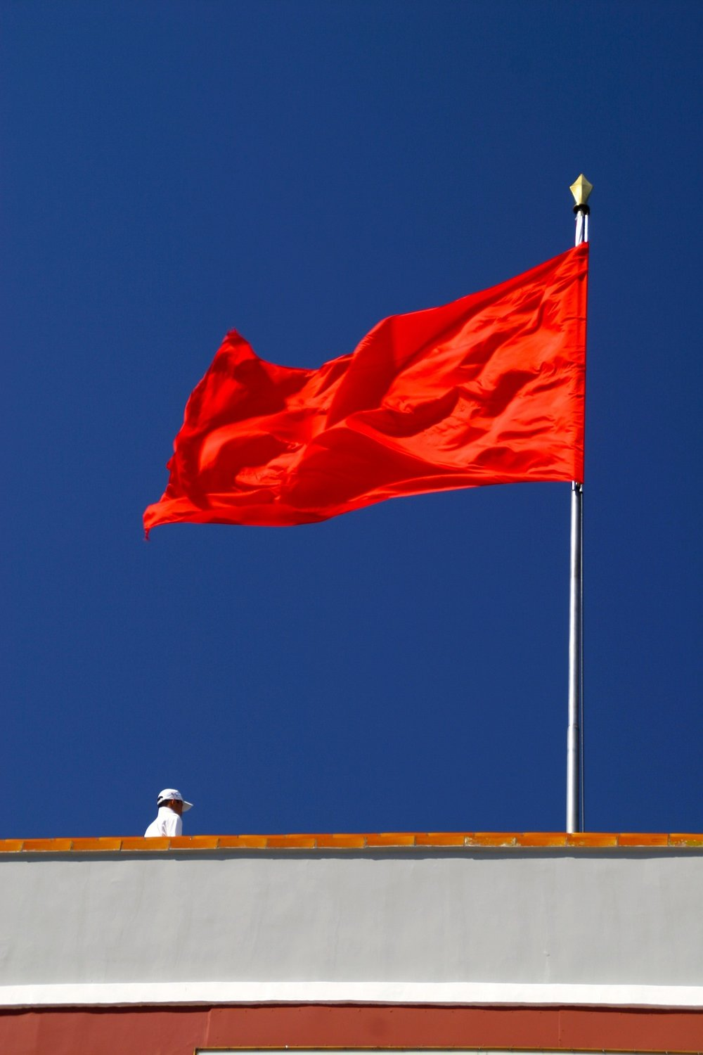 Red flags. Not just for Socialism.