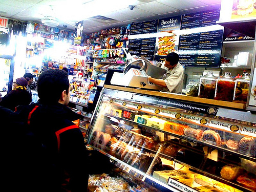 Corner stores or Bodegas are on virtually every block in NYC