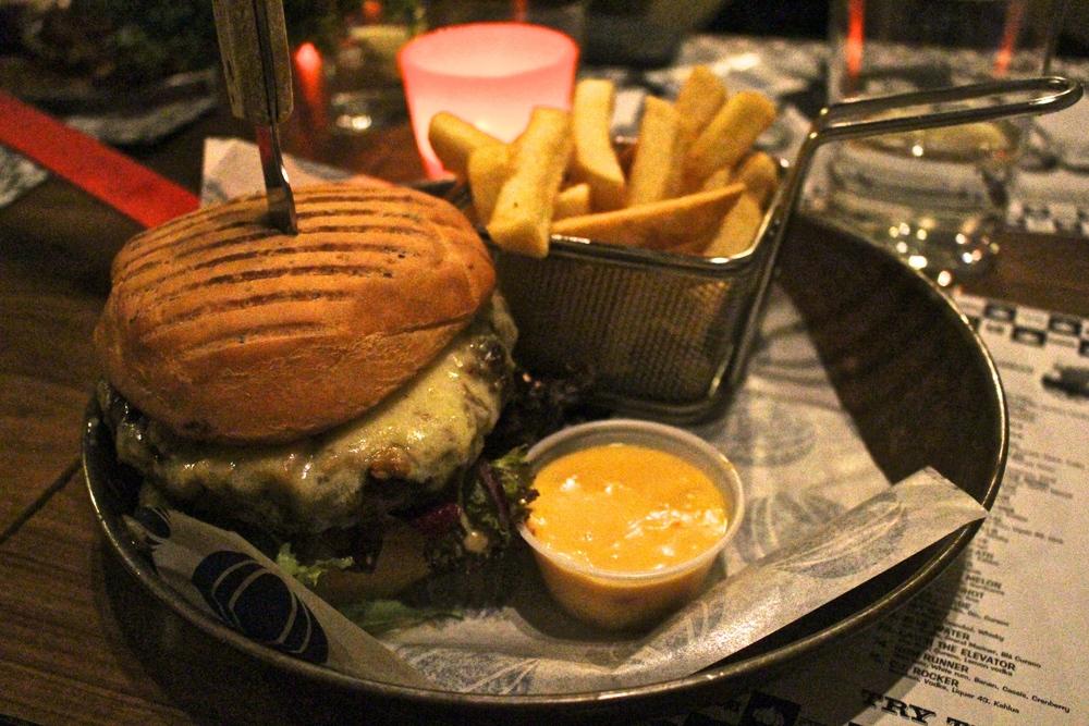 The Bacon Burger from Garlic & Shots