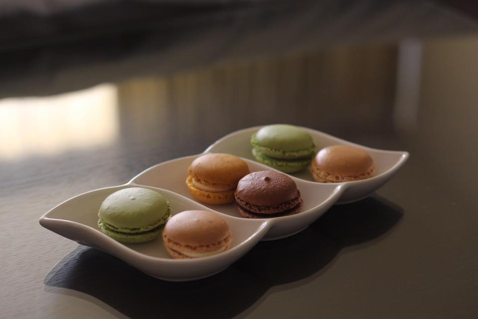 Macaroons, compliments of the staff at the Doubletree by Hilton Bucharest Unirii Square.