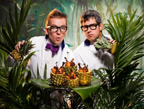 Bompas & Parr.  The creative chefs behind the Stella Artois Le Savoir.