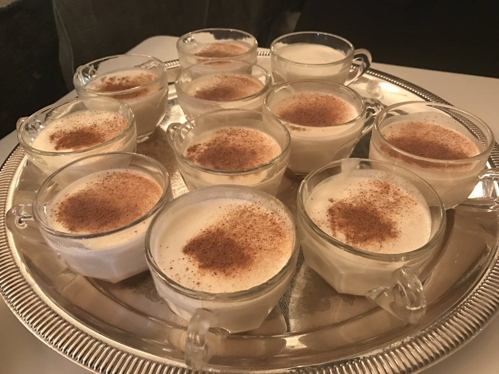 The infamous White House eggnog. It packs a punch.