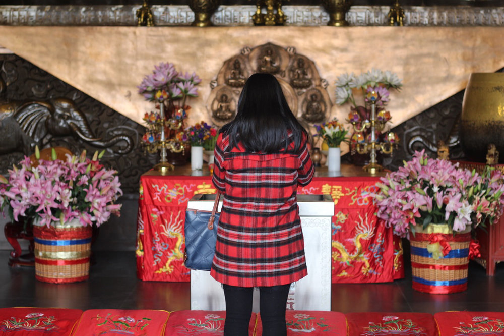 Many still visit the Jing'an Temple in Shanghai to pray, so keep that in mind while there.